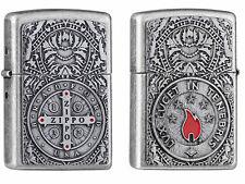 Zippo Medal of Zippo Double emblema Limited Edition xxx/1000 nuevo