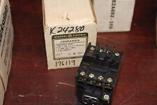 Ge, Relay, Cr4Ra40Ea, 120V Coil, 10A, New