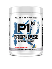 P1N Phase One Nutrition PrePhase Pre-Phase Ultra Super Pre-Workout, 30 Servings