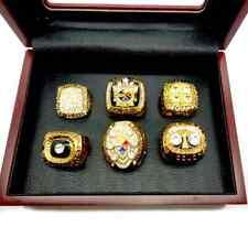 NFL Pittsburgh Steelers Super Bowl 6 pcs + box Championship ring