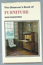 The Observer's Book Of Furniture 1970 Reprint Edition Hardback Good Condition