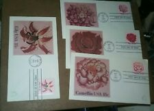 G12 1981 Andrews flowers full set first day covers
