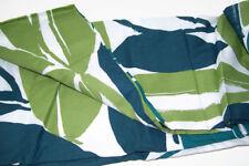 West Elm Multi Colors Cotton Rain Forest Leaf Leaves Full Queen Duvet Cover New