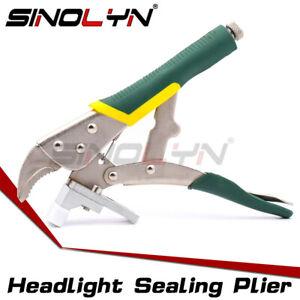 Headlamp Retrofit Tool Plier Clamp Sealing Auto Headlight Cover Projector Lens