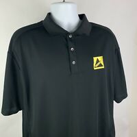 Nike Men's Golf Dri Fit Performance Polo S/S Shirt Size 2XL XXL Black