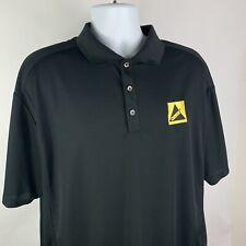 Nike Men's Golf Dri Fit Performance Polo S/S Shirt Size 2XL XXL Black