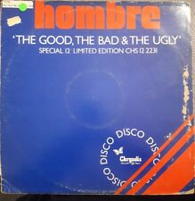 """Hombre The Good, The Bad and The Ugly 12"""" Vinyl Single"""