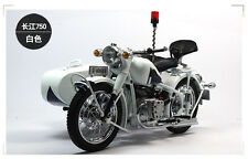 1:10 dealer edition changjiang 750 police motorcycle  diecast model rare
