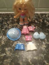 Fisher Price Snap N Style Doll Rooted Hair W Accessories