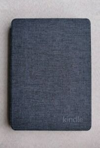 Amazon Fabric Cover for Kindle 10th Generation - Charcoal Black