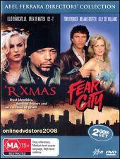 'R XMAS / FEAR CITY - Double Abel FERRARA CRIME Films (2 DVD SET) NEW SEALD Reg4