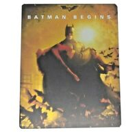 Batman Begins Bluray Special Edition 2 DISC Christian Bale Christopher Nolan
