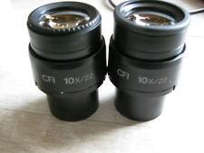 Pair of Nikon CFI 10x/22 eyepieces