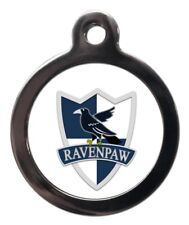 Ravenpaw Pet ID Tags Personalised Harry Potter Inspired Dog Name Tag For Collar