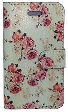 Floral Flower Flip Leather Case Cover for Various Samsung iPhone Lumia Phones
