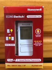 EconoSwitch 7-Day Programmable Wall Switch with Solar Timetable (Almond)Honeywel
