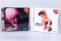 KING OF FIGHTERS Dream Match -&- Evolution 1999 SEGA DREAMCAST Japanese Import