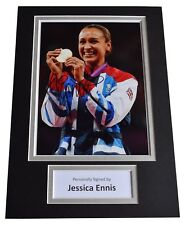 Jessica Ennis Signed Autograph A4 photo display Olympic Athletics AFTAL & COA