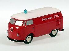 """Schuco Piccolo VW T1 Kasten """"Feuerwehr"""" # 50132400"""