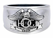Harley Davidson Mens 925 Sterling Silver HOG Ring 9 NWT !!!