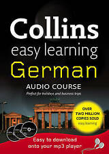 COLLINS EASY LEARNING GERMAN AUDIO COURSE 3 CD + BOOKLET NEW/SEALED
