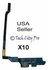 Lot of 10 Samsung Galaxy S4 IV Charging Port T-Mobile M919 & Mic Flex Cable