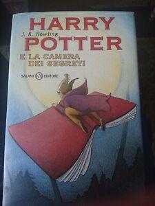 Harry Potter E La Camera Dei Segreti -Prima edizione terza Ristampa gennaio 2000