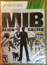 Men in Black: Alien Crisis (UNOPENED, Microsoft Xbox 360, 2012)
