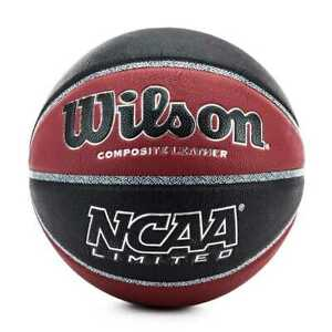 Wilson NCAA Limited Basketball Größe 7 WTB06589XB07 - black-red