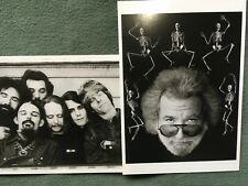 2 New Postcards: Grateful Dead 1972 and classic rock and roll Jerry Garcia 1991