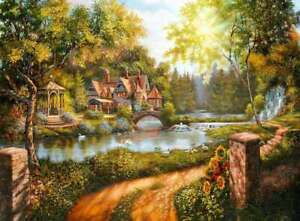 Ravensburger - Cottage by the River Puzzle 500pc