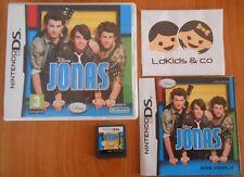 Jeu Nintendo DS / 2DS / 3DS Disney JONAS VF COMPLET CARTOUCHE + BOITE + NOTICE