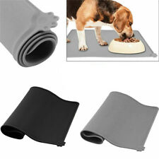 Pets Bowl Mat Feeding Pad Silicone Dish Mats For Dog Cat Floor Placemat