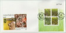 Stamps 1995 Singapore Thailand joint issue mini sheet on official FDC, numbered