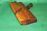 """Clean Crisp Antique Ohio Tool Co 7/8""""  Round Woodworking Moulding Plane Inv#EB77"""