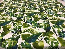 OUTDOOR TOMMY BAHAMA POLYESTER FABRIC WITH LEAF DEPICTION