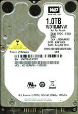 WD10JMVW-11S5XS0  DCM: EHKVJHK, WESTERN DIGITAL USB3 1TB  WXP1 APR 2013