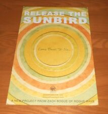 Release the Sunbird 2-Sided Promo Poster 11x17