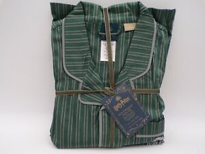 Pottery Barn Teen HARRY POTTER SLYTHERIN House 2-Piece Large Pajama Set #9967
