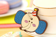 Cute Key Cover Top Head Cover Chain Cap Keyring Bag Phone Keychain Strap Lovely