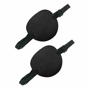 2 Pack Eye Patches for Kids Adults Adjustable Single Eye Patch Comfortable