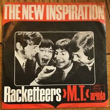 "The New Inspiration - Racketteers/M.T. German 1969 7"" PS Ariola Recs"