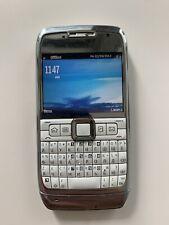 Nokia E Series E71 - White steel (Unlocked) Smartphone