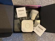 Philips Hue Colour and White Ambiance B22 LED Bulb and Bridge