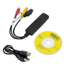 Easy CAP USB 2.0 Record VCR VHS Video Adapter to PC AV S-video DVD NEW