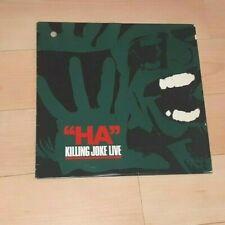 KILLING JOKE 'HA!' LIVE 10 INCH CANADIAN RECORD