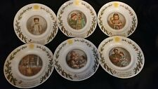 Royal Copenhagen (Denmark) Peters Jul w/o box (6 plates of 8 piece set)