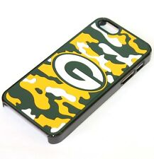 For iPhone SE 5S HARD FITTED SKIN CASE COVER CAMO ARMY YELLOW GREEN BAY PACKERS