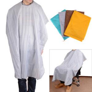 Waterproof hair cutting cape salon hairdressing gown apron barber cloth 140*.BI