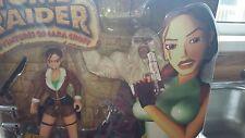 Playmates 1999 Tomb Raider Figura De Acción-Lara Croft conquista Yeti En Caja Sellada
